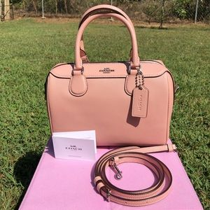 Coach Mini Bennett Crossbody Satchel, Petal Pink